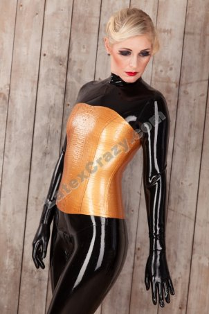 latex catsuit model natasha made to measure tailored