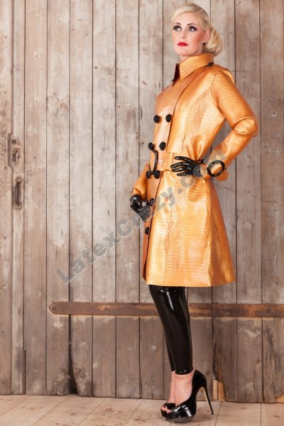 Latex Coat Dasha Made To Measure Tailored