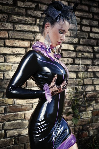 Latex Dress Mystique Tailored Made To Measure