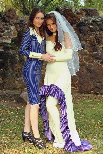 The Brides Are - Fetish Latex