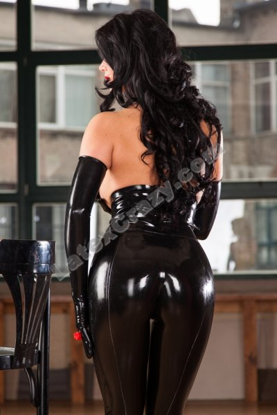 Latex Leggings Booty High Waist With Express Service
