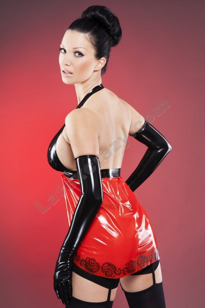 Latex Baby Doll With Bespoke Tailoring From The Latex Shop